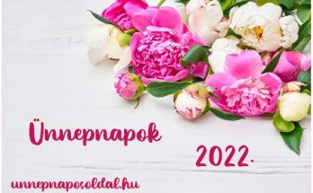 Ünnepnapok 2022